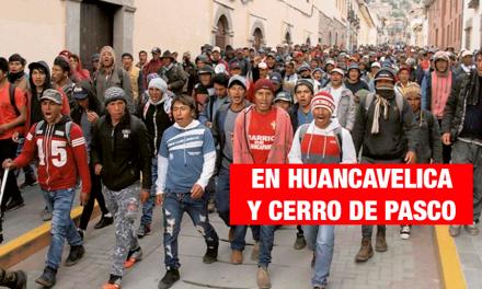 <H1>Paro agrario: Se reportan 2 muertos y más de 30 heridos</H1>-<p style='font-weight: normal;'>Se registraron las víctimas mortales en las provincias de Huancavelica y Cerro de Pasco.</P></H6>