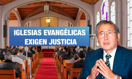 """<H1>Líderes evangélicos exigen a Corte IDH otorgar justicia a víctimas de Fujimori</H1>-<p style='font-weight: normal;'>Grupos evangélicos de diferentes países denuncian al indulto como """"pacto de impunidad"""" y exigen que Corte Interamericana emita una decisión justa al evaluar el indulto</P></H6>"""