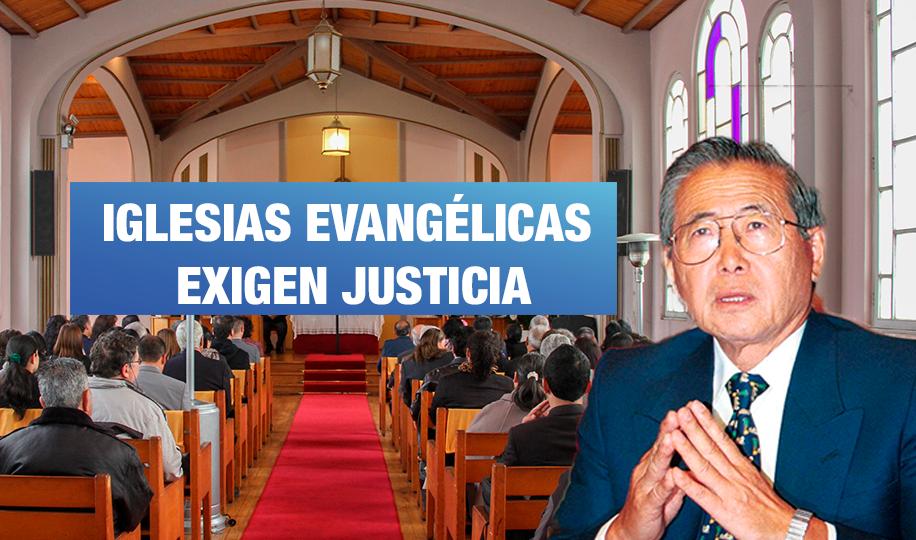 Líderes evangélicos exigen a Corte IDH otorgar justicia a víctimas de Fujimori