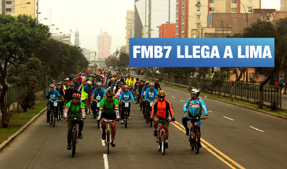 Foro Mundial de la Bicicleta llega a Lima