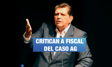 Cuestionan a fiscal a cargo del caso AG por inacción