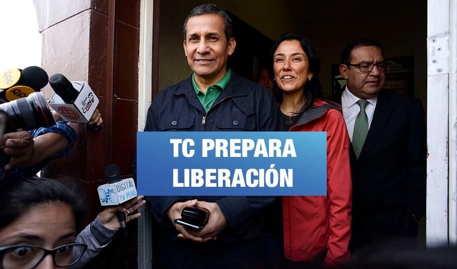 TC prepara liberación de Humala y Heredia, según semanario de Hildebrandt