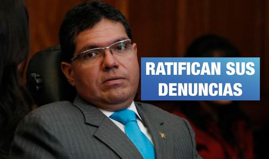 Testigos confirman denuncias contra ex congresista Michael Urtecho