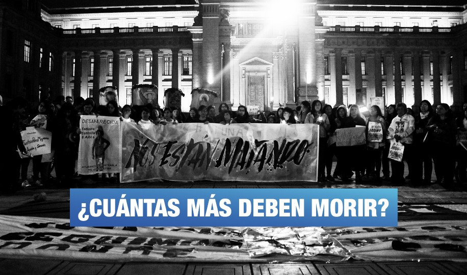 #NiUnaMuertaMás