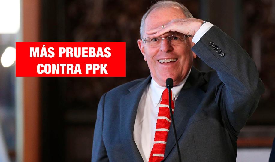 Comisión Lava Jato revela más pruebas contra PPK