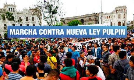 Estudiantes de institutos y universidades marcharán hoy contra nueva ley pulpín fujimorista