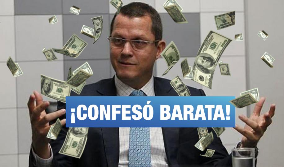 Barata habría confirmado aportes a PPK, Ollanta, García, Toledo, Keiko y Villarán