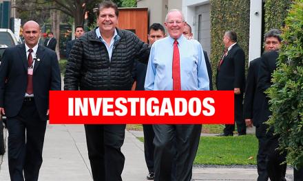 Fiscalía abrirá investigación contra PPK y Alan García
