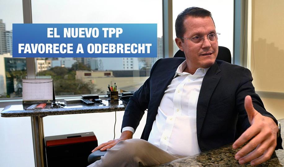El TPP y la protección de las inversiones de Odebrecht