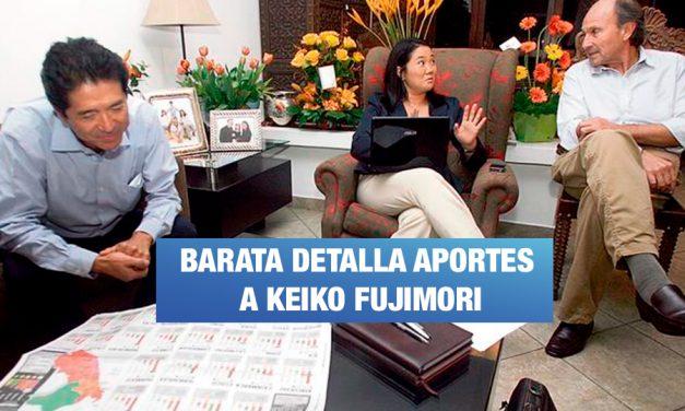 <H1>Jorge Barata sigue confesando sobre los vínculos con Fuerza Popular</H1>-<p style='font-weight: normal;'>En esta tercera entrega del portal web de investigación, se revelan más preguntas del fiscal José Domingo Pérez Gómez y más respuestas de Jorge Barata sobre los aportes económicos al partido de Keiko Fujimori.</P></H6>