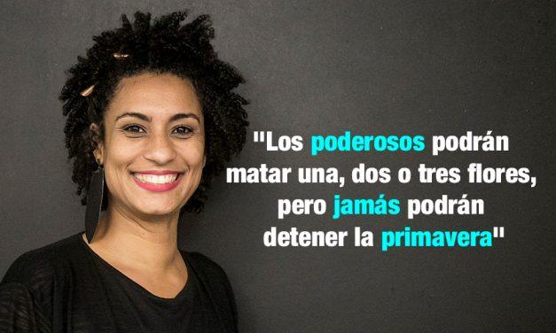 Brasil | Asesinan a feminista Marielle Franco quien se oponía a intervención militar