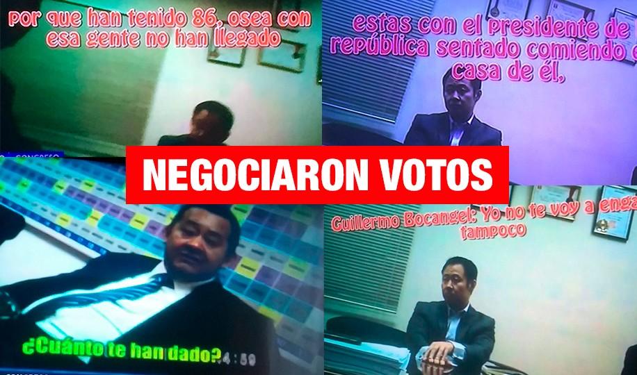 Presentan pruebas de supuesta compra de votos en vacancia a PPK