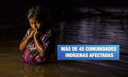 Pueblos awajún exigen al Estado asumir responsabilidad por niños contaminados con metales pesados