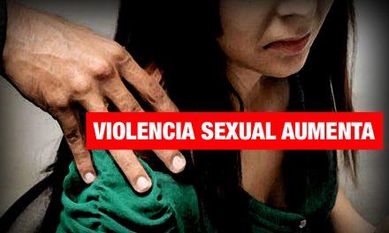 Más de 1620 mujeres fueron violentadas sexualmente en lo que va del año