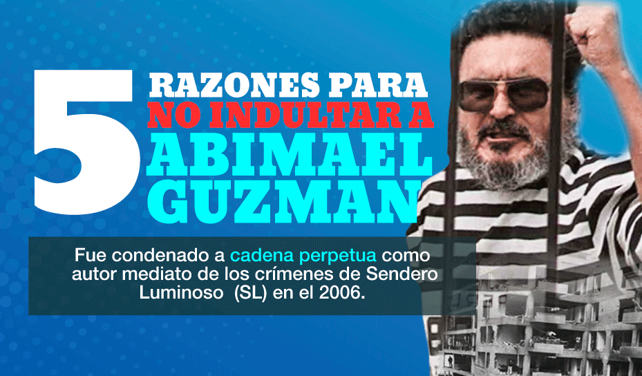 Los crímenes de Abimael Guzmán