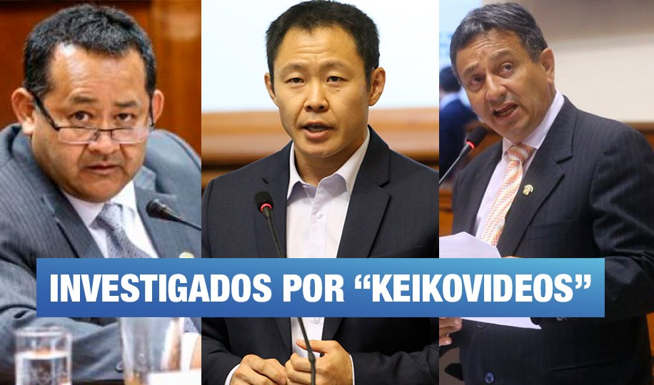 Presentan denuncia constitucional contra Kenji Fujimori, Bocángel y Ramírez
