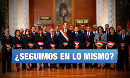 El Perú en 'modo avión'