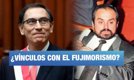 Martin Vizcarra tuvo una 'reunión de trabajo' con un expresidiario fujimontesinista