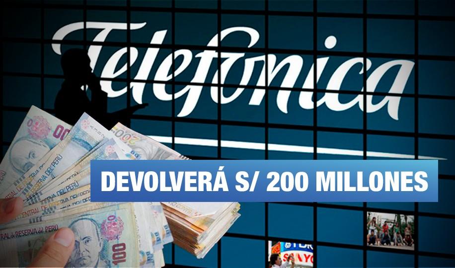 Esta es la sentencia que obliga a Telefónica a pagar S/ 200 millones