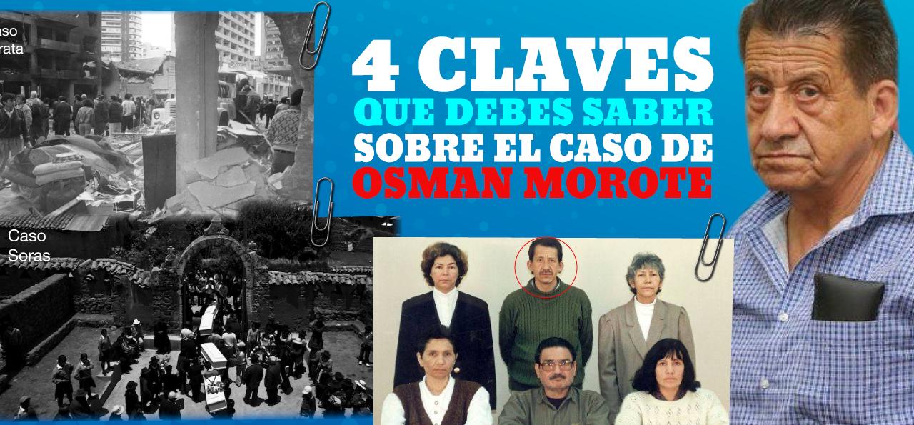 ¿Quién es el terrorista Osmán Morote?