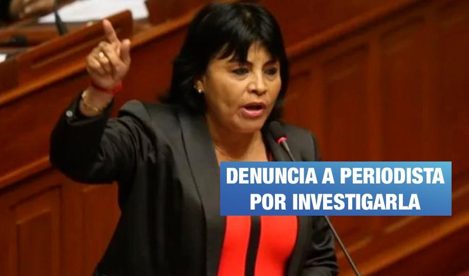 San Martín: amedrentan a periodista que investigó a fujimorista Esther Saavedra