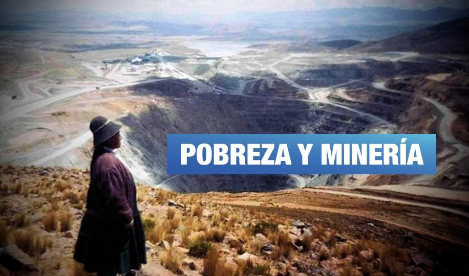 ¿La pobreza aumentó por falta de explotación minera?