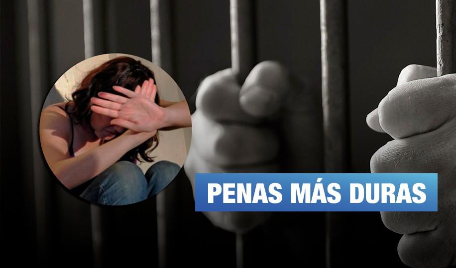 Congreso aprobó aumento de pena por feminicidio