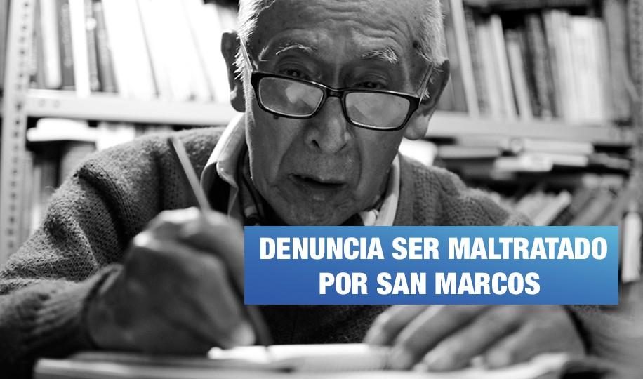Periodista César Lévano denuncia abusos de la UNMSM