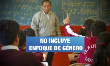 Aprueban lineamientos para la convivencia escolar sin enfoque de género