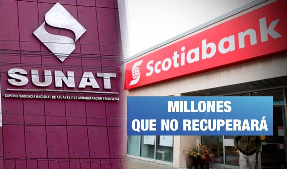 <H1>Sunat gana juicio a Scotiabank por S/ 48 millones</H1>-<p style='font-weight: normal;'>La Corte Suprema de Justicia ratifica la deuda de S/ 48 millones por parte de Scotiabank a la Sunat. Dicho monto podría ascender a S/ 500 millones.</P></H6>