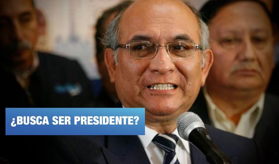 Julio Rosas adquirió kit electoral para inscribir partido político