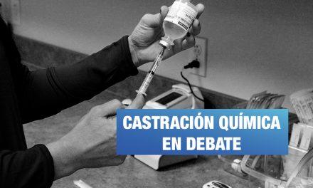 Reforma integral en delitos sexuales se pospone por debate sobre castración química
