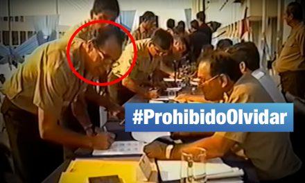 Congresista Donayre también firmó el 'Acta de Sujeción' de Montesinos