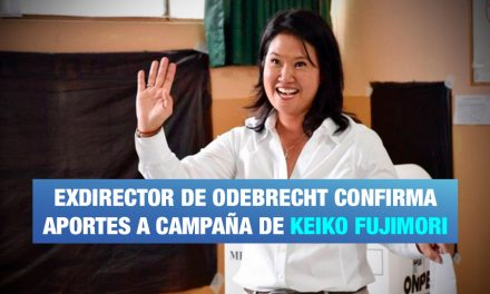 Confirman aportes a campaña de Keiko Fujimori del 2011