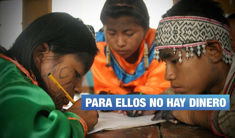 Solo migajas para educación bilingüe y lucha contra el cáncer