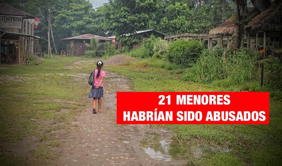 Investigan 21 casos de abuso sexual contra niños en Bagua