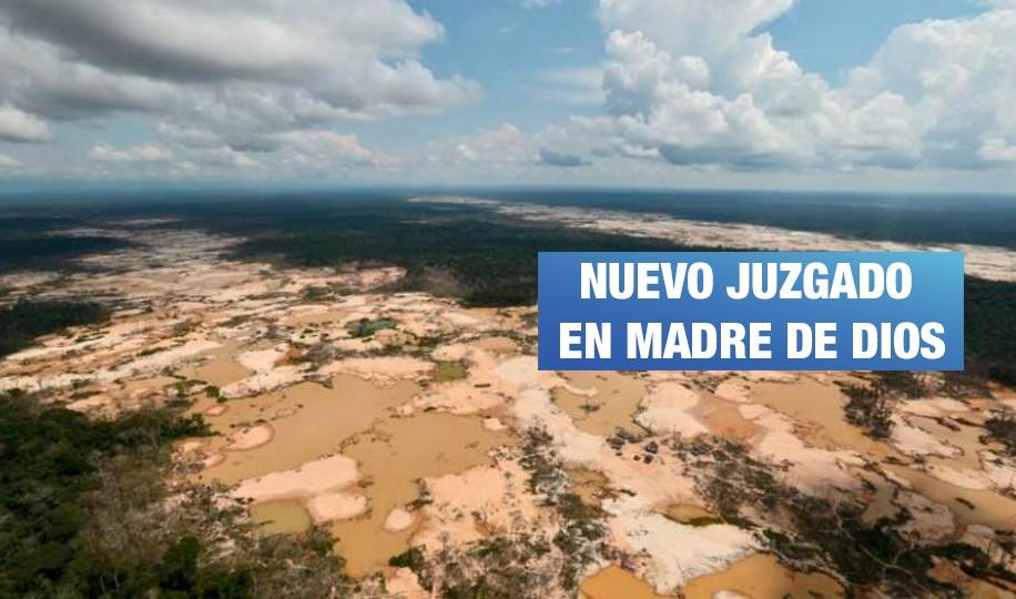Crean juzgado ambiental en la región más deforestada del Perú