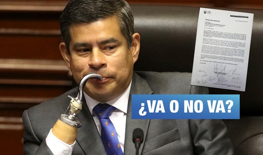 Presentan moción de censura contra Galarreta