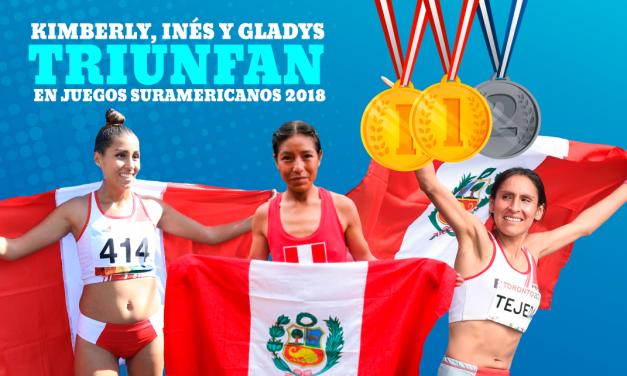 Peruanas ganaron medallas de oro y plata en Juegos Suramericanos Cochabamba 2018