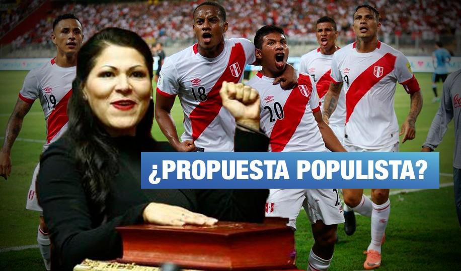 Congresista Yesenia Ponce retiró proyecto que proponía