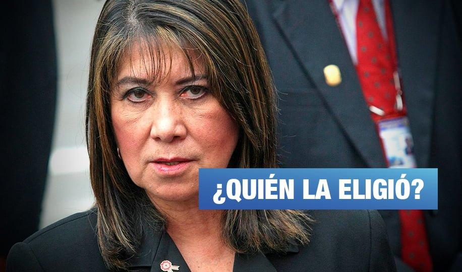 ¿Quién nombró a Martha Chávez como Personaje del Bicentenario?