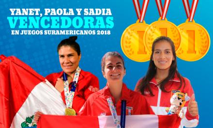 Mujeres peruanas arrasan en Juegos Suramericanos Cocha 2018