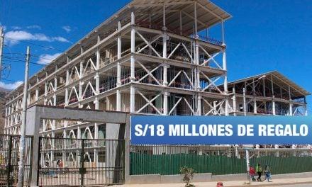 Gobierno Regional de Junín favoreció con S/18 millones a consorcio a cargo del Hospital El Carmen