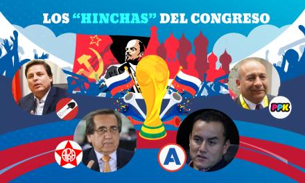 Congresistas viajan a Rusia y no asistirán a Pleno