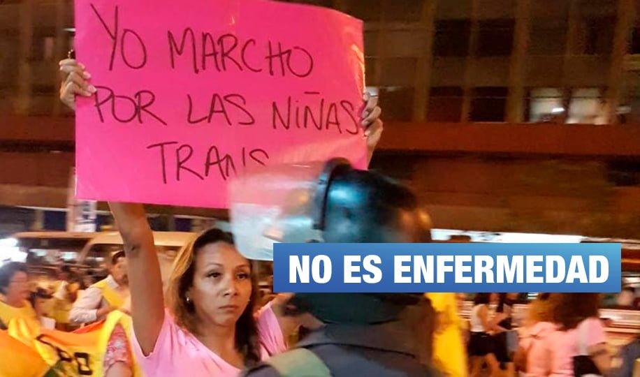 """Comunidad transexual: """"Nosotros no tenemos ninguna enfermedad, somos iguales al resto»"""