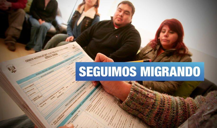 INEI: Seis regiones pierden población por migración a causa de pobreza