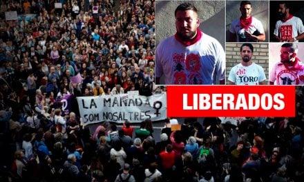Manifestaciones en España por liberación de 'La Manada'
