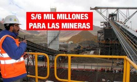 Seis mil millones de devoluciones mineras, por Pedro Francke