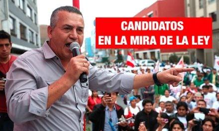 Cinco candidatos a la alcaldía de Lima tienen sentencias y procesos judiciales