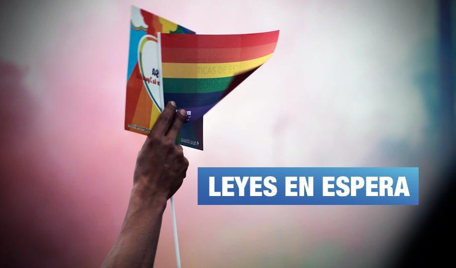 Orgullo LGTBI: Cuatro Proyectos de Ley que esperan ser debatidos